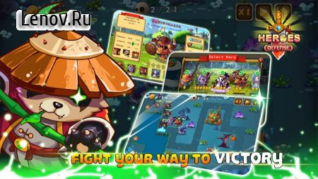 Heroes Defender Fantasy - Epic TD Strategy Game v 1.1 Мод (Mandatory purchase of heroes)