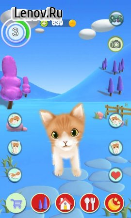 Talking Cat v 1.28 Мод (Unlimited Gold Coins)