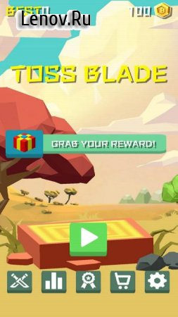 Toss Blade v 1.9 Мод (Unlimited Gold Coins)