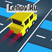 Traffic Run! v 1.6 Мод (Unlocked)