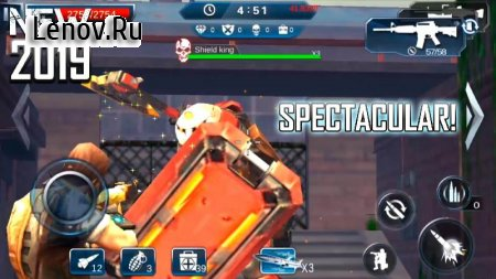War squad: Aim the soldiers - Shooter FPS Game v 1.0 Мод (Free Shopping)