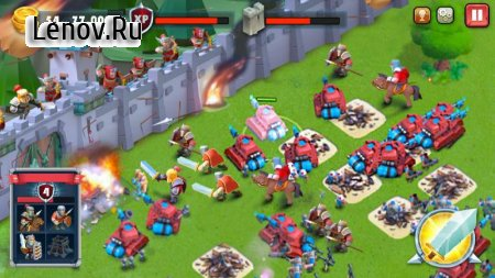 Castle Defense-Soldier tower defense strategy game v 1.1.6 (Mod Money)