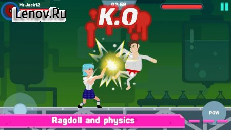 Ragdoll Warriors : Crazy Fighting Game v 3.0.2 Мод (Unlimited Gold Coins/Diamonds)