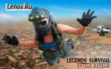 Legends Survival Battleground: PVP Battle Royale v 1.1 Мод (Unlimited Gold Coins)