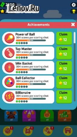 Idle Dunk Masters v 1.2.4 Мод (Unlimited Money/Star)