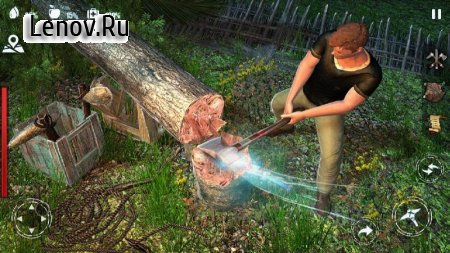 Woodcraft - Survival Island v 1.32 Mod (Disabled ad serving)