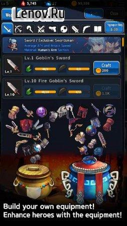 Idle Knights v 1.1.30 (God mode/1hit kill)