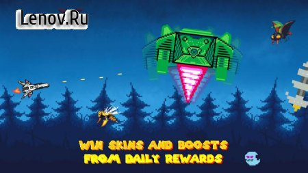 Aero Attack: Retro Space Shooter v 1.0.5 (Mod Money)