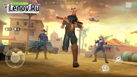 FightNight Battle Royale v 0.6.0 Мод (Free Shopping)