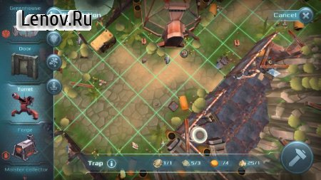 Castaway Fortnight: Rules of Survival v 1.0 Мод (Free construction)