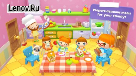 Sweet Home Stories - My family life play house v 1.2.6 Мод (Unlocked)