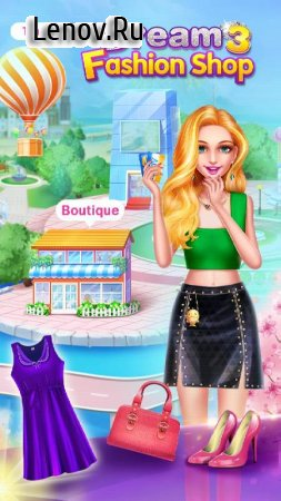 Dream Fashion Shop 3 v 1.9.3935 Мод (Free Shopping)