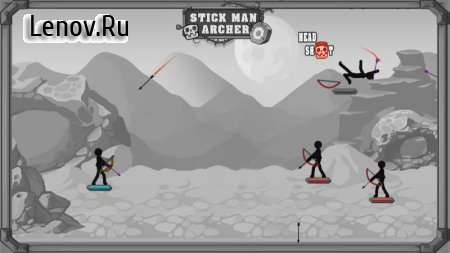 Mr. Archer : King Stickman v 1.0.8 Мод (Unlimited gold coins)