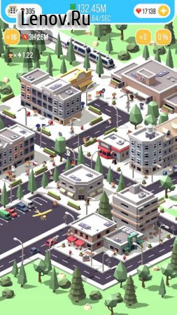 Idle Island - City Building Tycoon v 1.03.02 Мод (Free Shopping)