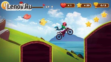 Stunt Moto Racing v 2.38.5003 Мод (Ad-free unlocking motorcycle)