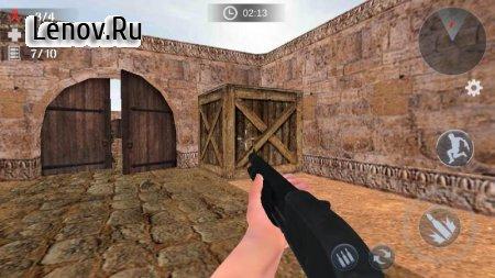 Gun Strike: Real 3D Shooting v 2.0.3 Mod (UNLIMITED GRENADES/MONEY/NO ADS)