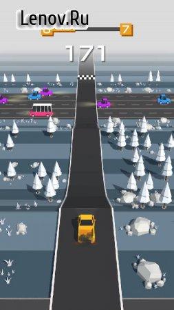 Traffic Run! v 1.4.2 Мод (Unlocked)