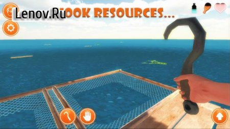Raft Survival Simulator v 9.1.0 Мод (The characters invincible)