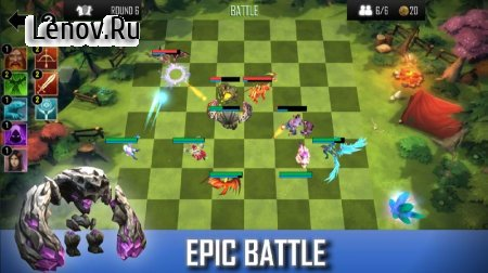 Auto Chess Defense - Mobile v 1.11 Мод (Unlimited Gold Coins)