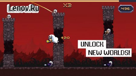 Super Dashy Knight v 2.0.0 Мод (Unlock all levels/most characters)