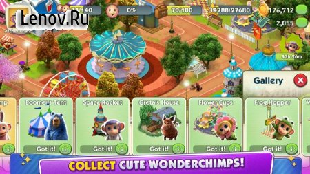 Wonder Park Magic Rides v 0.1.8 Мод (Unlimited Coins/Gems)