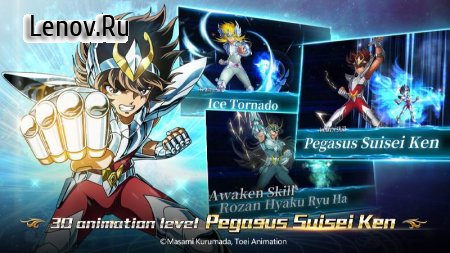 Saint Seiya: Galaxy Spirits v 1.0.4 (GOD MODE/x100 DMG)