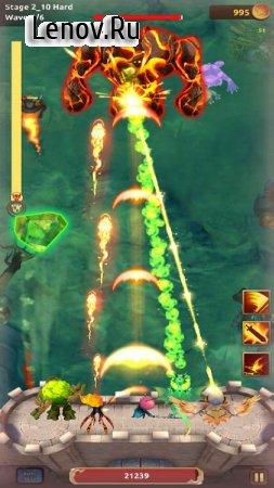 Knight War: Idle Defense v 1.2.7 Мод (Damage x10/Always crit/Currency x50)