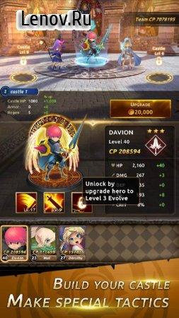 Knight War: Idle Defense v 1.6.2 Мод (One Hit Kill/Max ATK Range)