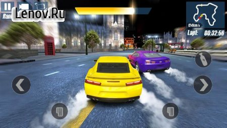 Real Road Racing-Highway Speed Car Chasing Game v 1.1.0 Мод (Unlimited gold coins/nitrogen/vehicles)