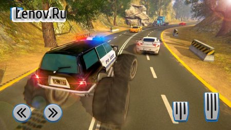 Police Truck Gangster Car Chase v 1.1.0 Мод (Unlockable levels/characters/vehicles/guns)