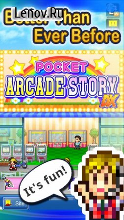 Pocket Arcade Story DX v 1.0.6 (Mod Money/Tickets/Hearts/Unlocked)