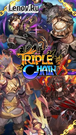 Triple Chain: Strategy & Puzzle RPG v 0.984.6 (GOD MODE/x100 DMG)
