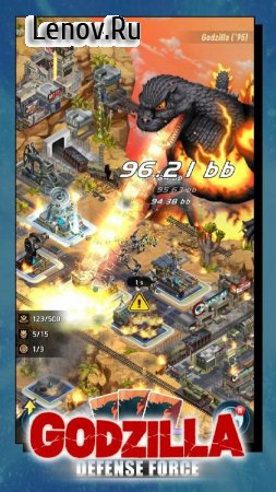 Godzilla Defense Force v 1.0.2 (Mod gold coins)