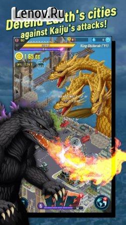 Godzilla Defense Force v 2.3.4 (Mod gold coins)