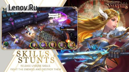 Legends of Valkyries v 1.7.0.15 (GOD MODE/DMG MULTIPLE)
