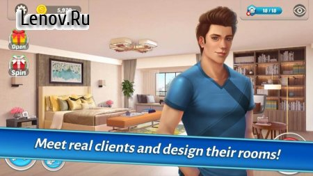 Home Designer - Match + Blast to Design a Makeover v 1.4.6 Мод (Many Lives)