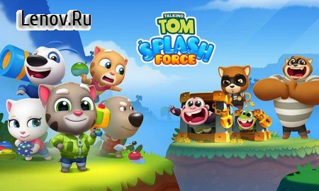 Talking Tom Splash Force v 1.0.3.186 (Mod Money/Unlocked)