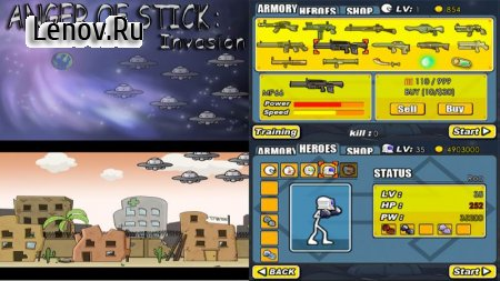 Anger of stick 1 v 1.0.1 Мод (Free Shopping)