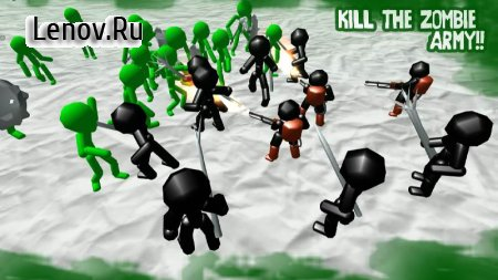 Stickman Simulator: Zombie Battle