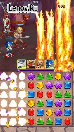 SEGA Heroes: Match-3 RPG Quest v 56.167693 (Mod Money)