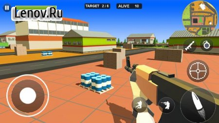 Pixel Battle Royale v 1.2 Мод (Free Shopping)