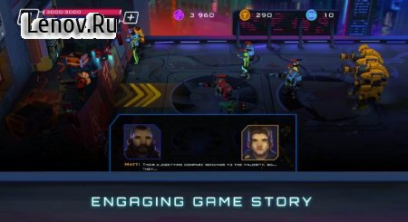 Uprising: Cyberpunk 3D Action Game v 1.0.1 Mod (Unlimited Ammo)