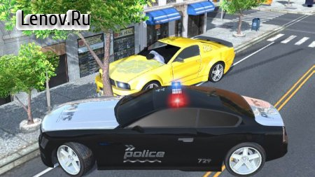 Police Car: Chase v 1.4 Мод (Free Upgrade Car/Weapon)