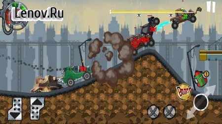 Mad truck Racing v 1.0.8 Мод (Free Shopping)
