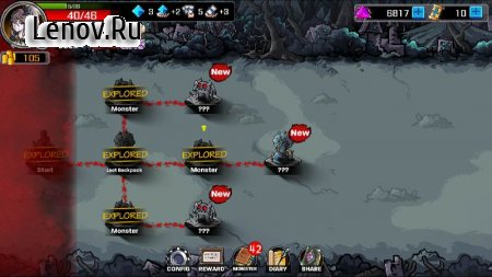 Dark Dungeon Survival -Lophis Fate Card Roguelike v 1.2.0 Мод (Free shopping)