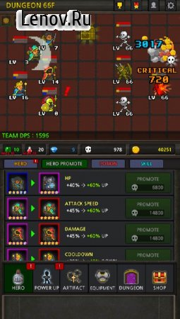 Grow Heroes Vip : Idle RPG v 5.8.2 Mod (Free Shopping)