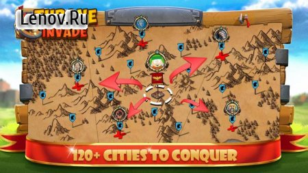 Throne Invade - Kingdom at War v 1.1.4 Мод (Unlimited Gold Coins/Diamonds)