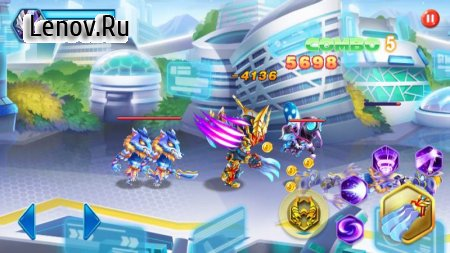 Superhero Armor: City War - Robot Fighting Premium v 1.0.5 Мод (Unlimited coins/gems/diamonds/CD time reduced)