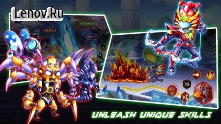 Superhero Armor: City War - Robot Fighting Premium v 1.0.1 Мод (Unlimited coins/gems/diamonds/CD time reduced)