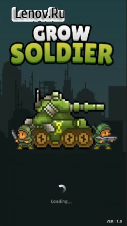 Grow Soldier - Idle Merge game v 2.1 Мод (Unlimited Gold Coins)
